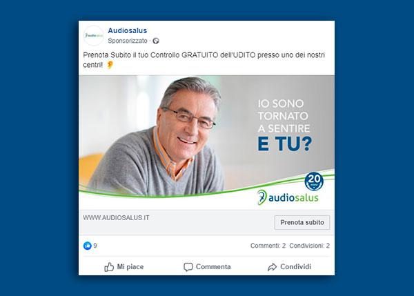Campagna Promozionale Audiosalus