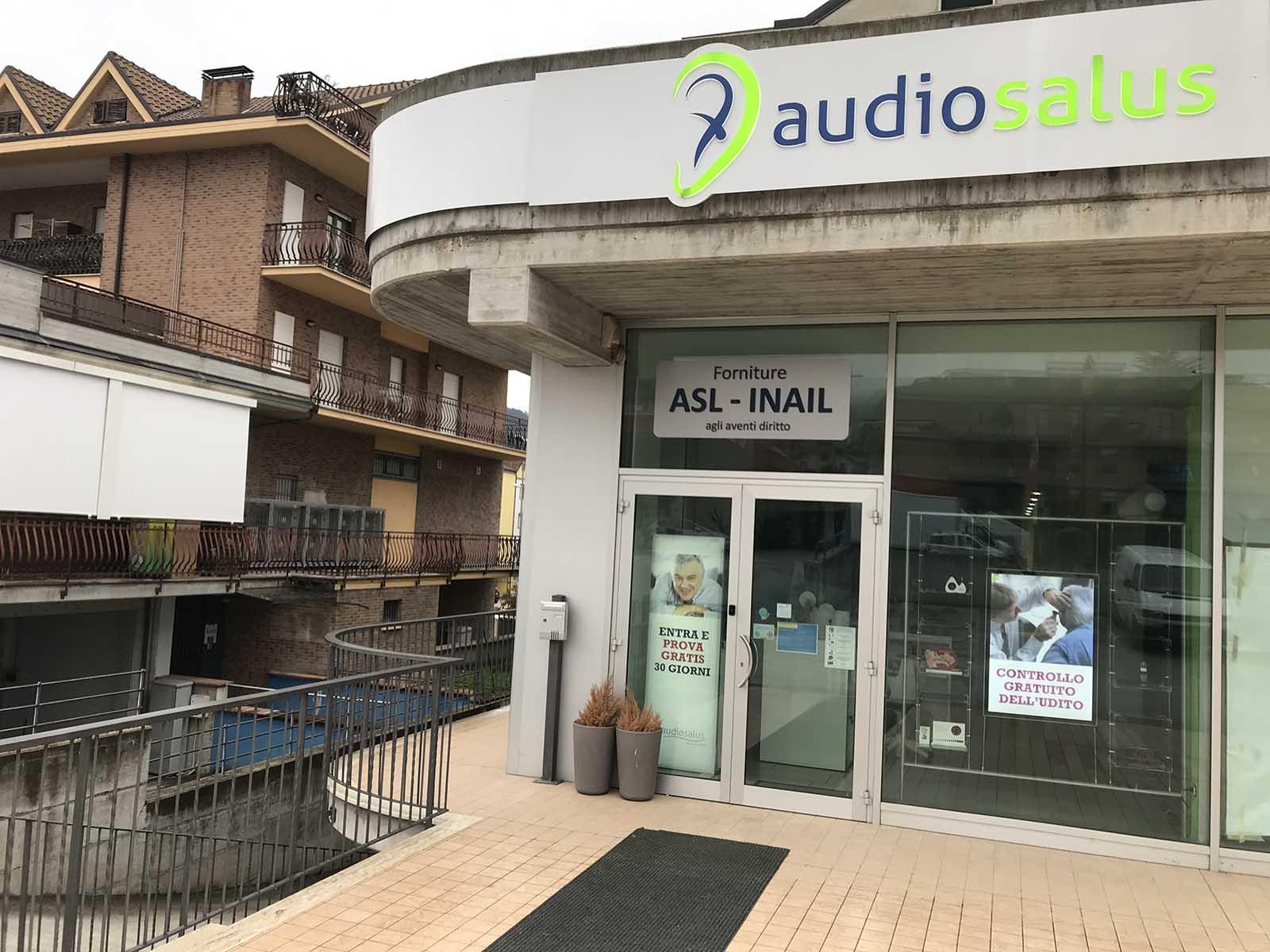 Ingresso Centro Acustico Audiosalus L'Aquila