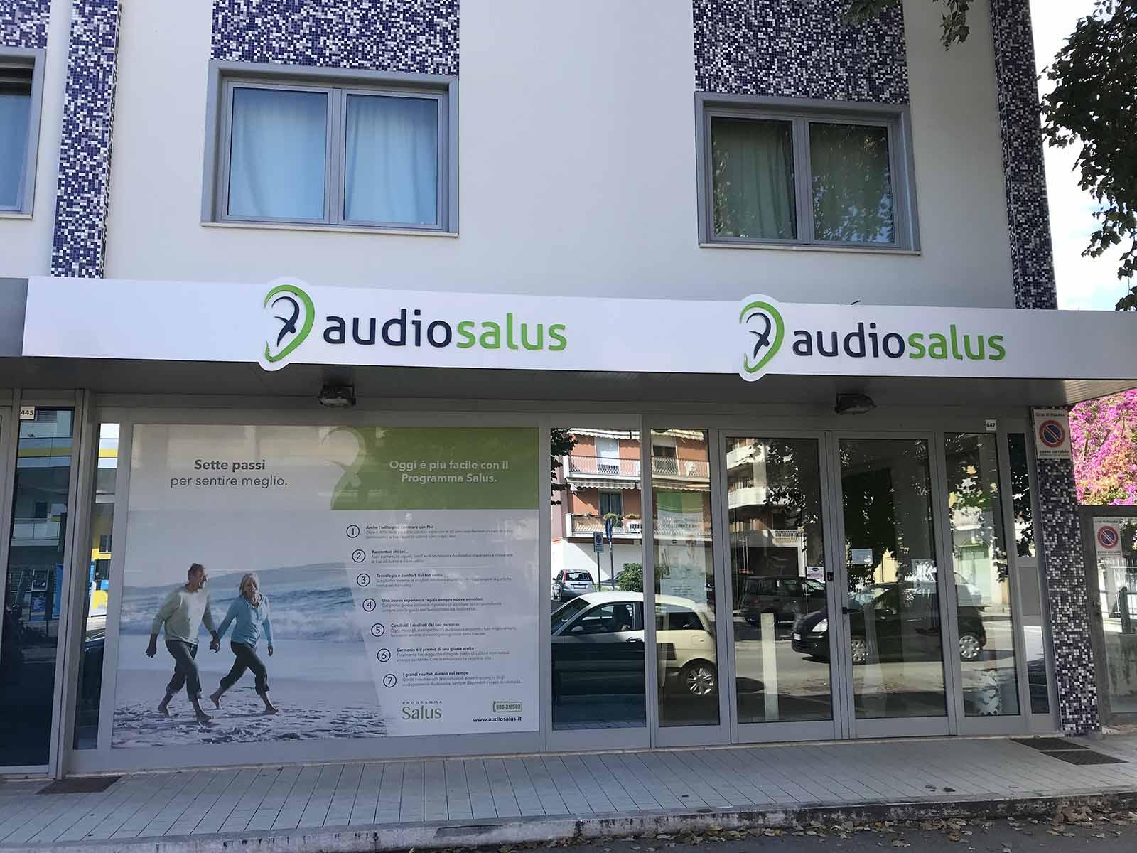 Ingresso Centro Acustico Audiosalus | Pescara