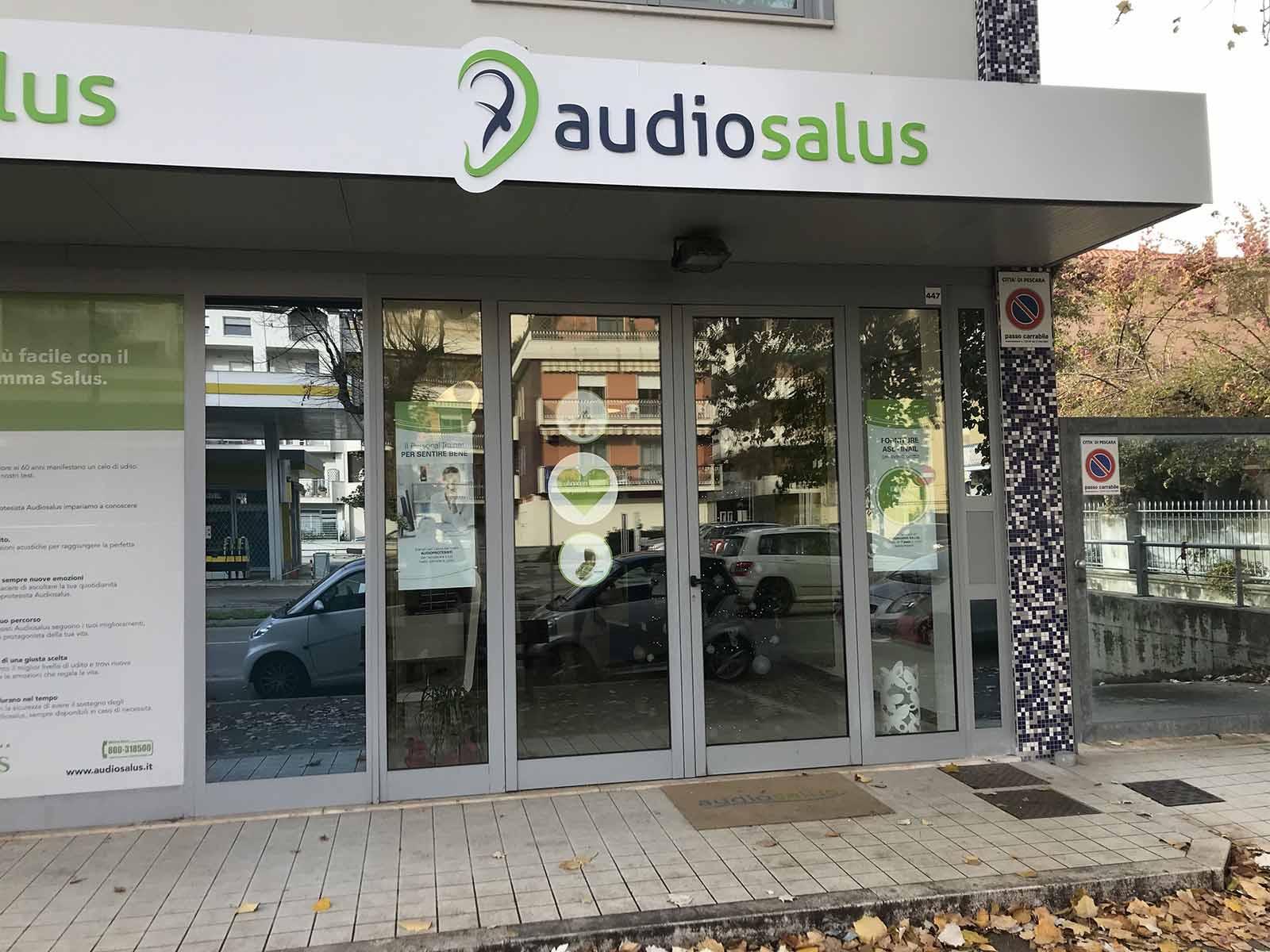 Ingresso Centro Acustico Audiosalus Avezzano
