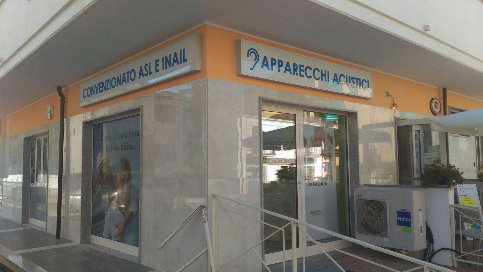 Ingresso Centro Acustico Audiosalus | Sulmona